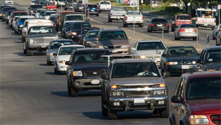 Image of traffic of Kern